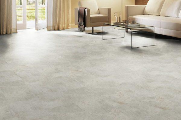 Vinylboden Beton Silber ungefast sand 0,3 mm Nutzschicht Nutzungsklasse 31